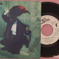 "Discos de vinilo: 7"" SADE - THE SWEETEST TABOO - EPIC EPC A 12 6609 - SPAIN PRESS - PROMO 1SIDED (EX/EX). Lote 287760508"