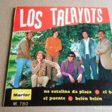 Discos de vinilo: TALAYOTS, LOS, EP, BELEN, BELEN + 3, AÑO 1968 PROMO. Lote 287767803