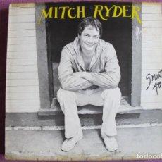 Discos de vinilo: LP - MITCH RYDER – SMART ASS (ENGLAND, SAGARI RECORDS 1982). Lote 287769068