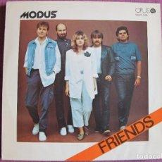 Discos de vinilo: LP - MODUS – FRIENDS (CZECHOSLOVAKIA, OPUS RECORDS 1987). Lote 287770208
