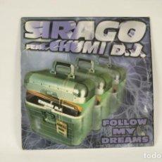 Discos de vinilo: VINILO SIRANGO FT CHUMI DJ - FOLLOW MY DREAMS. Lote 287771518