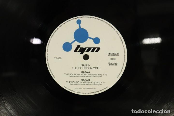 Discos de vinilo: VINILO NANIN - THE SOUND IN YOU - Foto 5 - 287771903