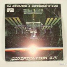 Discos de vinilo: VINILO DJ RICARDO & CORROSIVE DJS - CODIFICATION. Lote 287772198