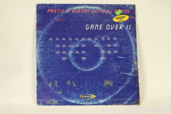 VINILO PASTIS & BUENRI CON DJ RUBY - GAME OVER II (Música - Discos de Vinilo - Maxi Singles - Techno, Trance y House)