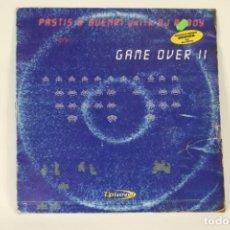 Discos de vinilo: VINILO PASTIS & BUENRI CON DJ RUBY - GAME OVER II. Lote 287772648