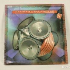 Discos de vinilo: VINILO JAVI AZNAR VS DJ Q-BIK & JAMES BND - BREAK THE NOISE. Lote 287773473
