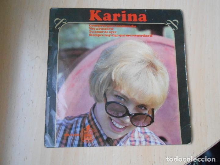 KARINA, EP, CONCIERTO PARA ENAMORADOS + 3, AÑO 1966 (Música - Discos de Vinilo - EPs - Solistas Españoles de los 50 y 60)