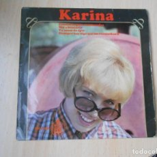 Discos de vinilo: KARINA, EP, CONCIERTO PARA ENAMORADOS + 3, AÑO 1966. Lote 287776483
