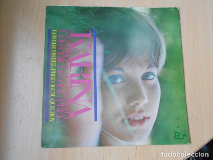 KARINA, SG, LOS CHICOS DEL PREU + 1, AÑO 1967 (Música - Discos - Singles Vinilo - Solistas Españoles de los 50 y 60)
