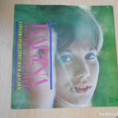 Discos de vinilo: KARINA, SG, LOS CHICOS DEL PREU + 1, AÑO 1967. Lote 287777573