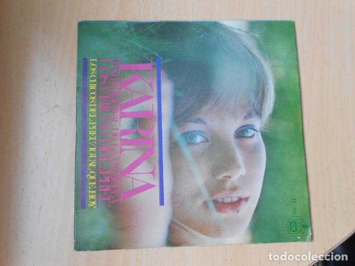 Discos de vinilo: KARINA, SG, LOS CHICOS DEL PREU + 1, AÑO 1967 - Foto 2 - 287777573