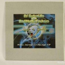 Discos de vinilo: VINILO DJ EXTRALIFE VS. BAD MUTHAFUCJERS - NEW JERSEY VS CHICAGO. Lote 287778363