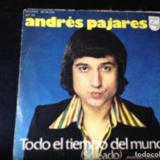 "Discos de vinilo: ANDRÉS PAJARES - MADAME GIGI / SINGLE 7"" 1975 SPAIN. NM/NM. Lote 287780603"