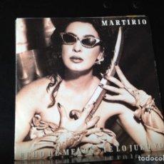 "Discos de vinilo: MARTIRIO - ECHO DE MENOS - TE LO JURO / SINGLE 7"" PROMO 1991 SPAIN. NM/NM. Lote 287786638"