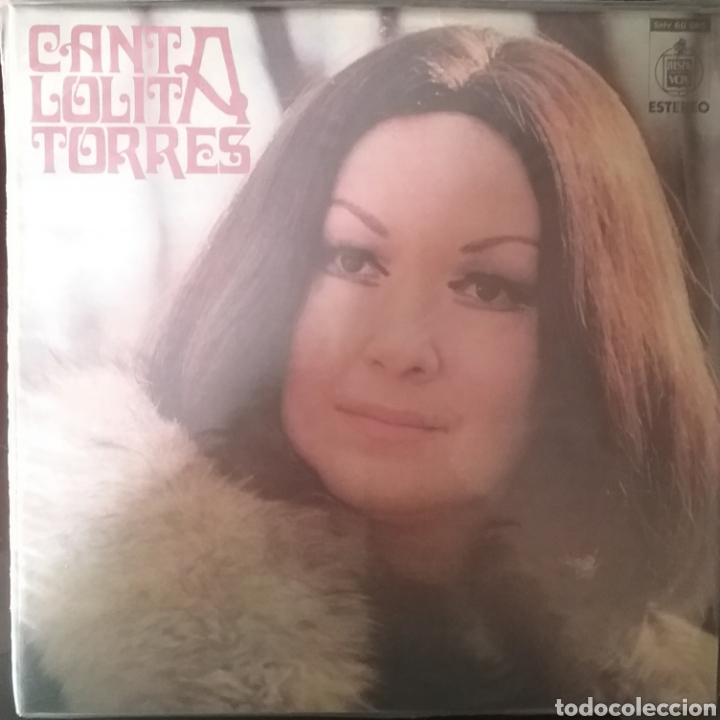 LOLITA TORRES. LP. SELLO HISPAVOX.EDITADO EN URUGUAY (Música - Discos - LP Vinilo - Grupos y Solistas de latinoamérica)
