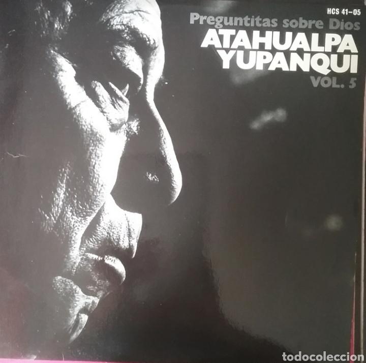 ATAHUALPA YUPANQUI. LP. SELLO HISPAVOX.EDITADO EN ESPAÑA. AÑO 1977 (Música - Discos - LP Vinilo - Grupos y Solistas de latinoamérica)