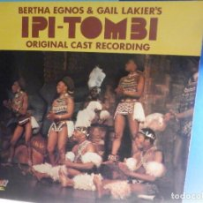 Discos de vinilo: DOBLE LP - IPI - TOMBI - BERTHA EGNOS & GAIL LAKIER´S, ORIGINAL CAST RECORDING .1975 UK GALAXI. Lote 287797758