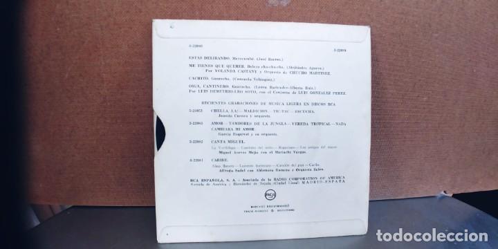 Discos de vinilo: YOLANDA CASTANY-EP ME TIENES QUE QUERER +3 - Foto 2 - 287800388