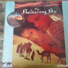 Discos de vinilo: RYUICHI SAKAMOTO - THE SHELTERING SKY - EL CIELO PROTECTOR **** LP ED. EUROPEA 1990 GRAN ESTADO. Lote 287801383
