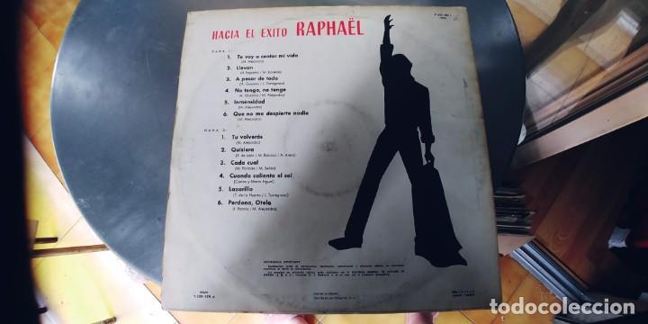 Discos de vinilo: RAPHAEL-LP HACIA EL EXITO-ESPAÑOL 1967 - Foto 2 - 287803258