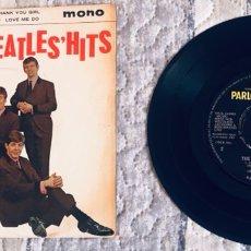 Discos de vinilo: THE BEATLES HITS. Lote 287804123