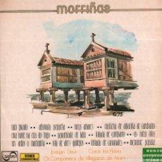 Discos de vinilo: MORRIÑAS - JOAQUIN DEUS, COROS IRIA FLAVIA. VILLAGARCIA DE AROSA / LP ZAFIRO 1974 RF-10292. Lote 287813568