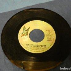 Discos de vinilo: BOXX129 SINGLE 7 PULGADAS USA TONY ORDANDO AND DOWN. Lote 287815073