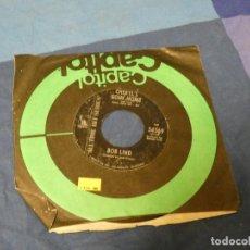 Discos de vinilo: BOXX129 SINGLE 7 PULGADAS USA BOB LIND ELUSIVE BUTTERFLY CHERYLS GOING HOME. Lote 287815168