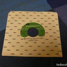 Discos de vinilo: BOXX129 SINGLE 7 PULGADAS USA JEANNIE C RILLEY YESTERDA ALL DAY LONG TODAY. Lote 287815288