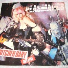 Discos de vinilo: PLASMATICS - BUTCHER BABY - STIFF 1980 - UK - PICTURE DISC - EX!!!. Lote 287817253