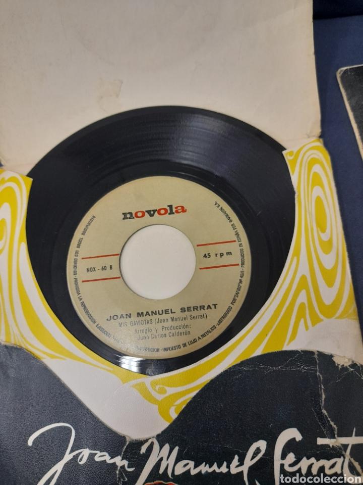 Discos de vinilo: 2 antiguos vinilos de Serrat - Foto 4 - 287817588