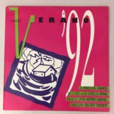 Discos de vinilo: VERANO DEL '92. MAXI. LA PRIMAVERA. CAMARÓN.. Lote 287818503