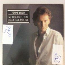 Discos de vinilo: TOMAS LEDIN. NO TOQUES EL DIAL. DON'T TOUCH THAT DIAL.. Lote 287823523