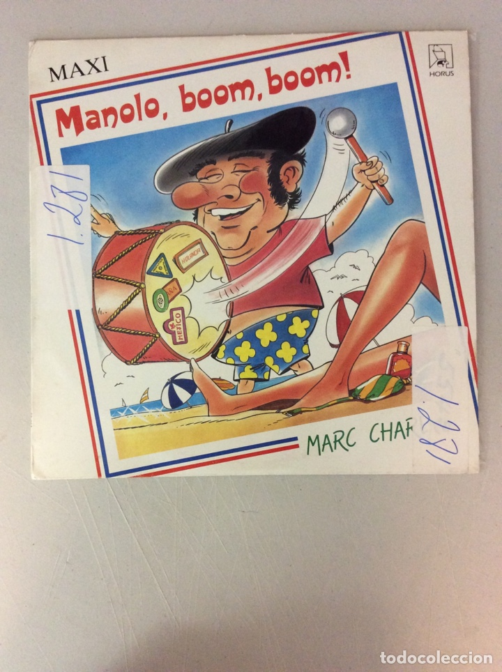 MANOLO. BOOM, BOOM! MARC CHARLAN (Música - Discos de Vinilo - Maxi Singles - Otros estilos)