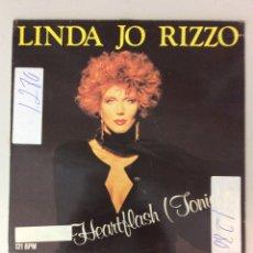 Discos de vinilo: LINDA JO RIZZO. HEARTFLASH (TONIGHT). Lote 287825718