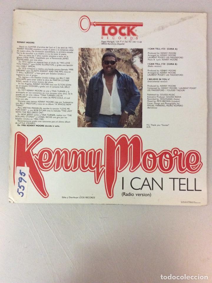 Discos de vinilo: Kenny Moore. I can tell - Foto 2 - 287826498