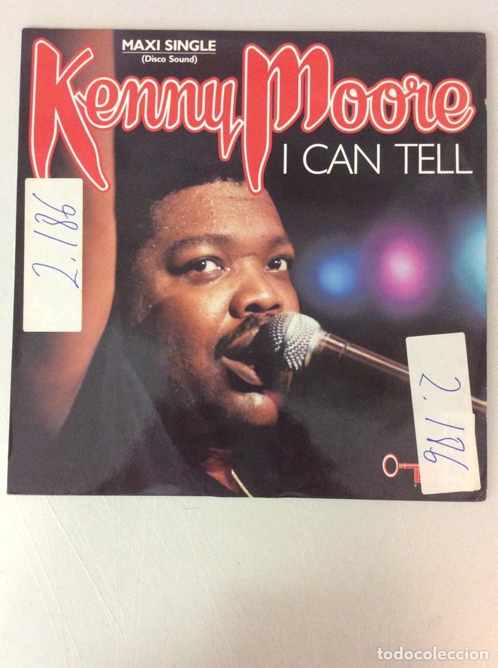 KENNY MOORE. I CAN TELL (Música - Discos de Vinilo - Maxi Singles - Otros estilos)