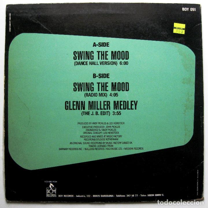 Discos de vinilo: Jive Bunny And The Mastermixers - Swing The Mood - Maxi Boy Records 1989 BPY - Foto 2 - 287828963