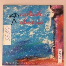 Discos de vinilo: COSTA DE ALMERÍA. PATRONATO PROVINCIAL DE TURISMO.. Lote 287832888