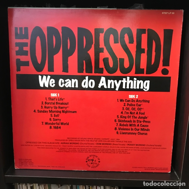 Discos de vinilo: The Oppressed! – We Can Do Anything - Foto 2 - 287835253