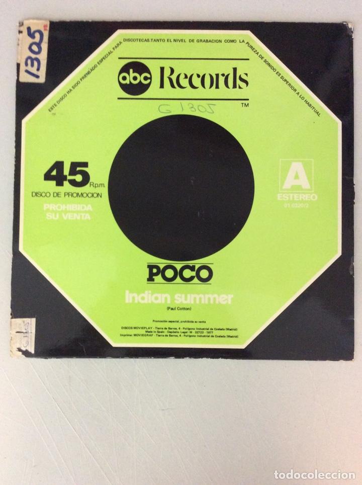 Discos de vinilo: ABC records. Poco. Keep on tryin'. Rose of cimarrón. Indian summer - Foto 2 - 287836008