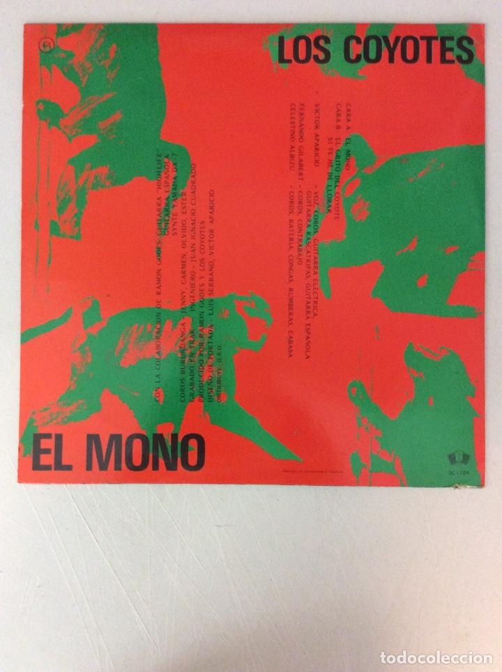 Discos de vinilo: El Mono. Los Coyotes. - Foto 2 - 287836138