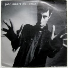 Discos de vinilo: JOHN MOORE (THE JESUS AND MARY CHAIN) - MELTDOWN - MAXI POLYDOR 1990 UK BPY. Lote 287838368