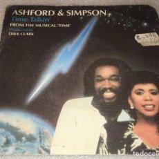 Discos de vinilo: SINGLE ASHFORD AND SIMPSON - TIME TALKING - FLYING - EMI 006.20.1148.7 - PEDIDO MINIMO 7€. Lote 287838833
