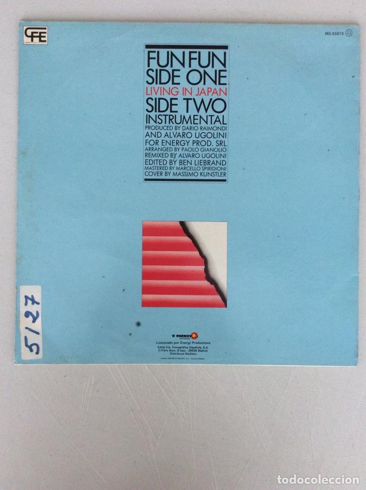 Discos de vinilo: Fnfun. Living in Japan. - Foto 2 - 287838953