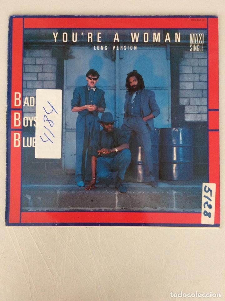BAD BOYS BLUE. YOU'RE A WOMAN. LONG VERSION (Música - Discos de Vinilo - Maxi Singles - Otros estilos)