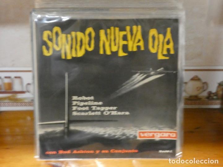 CAJSING19 DISCO 7 PULGADAS BUEN ESTADO GENERAL EP BUD ASHTON SONIDO NUEVA OLA PORTADON (Música - Discos - LP Vinilo - Pop - Rock - Internacional de los 70)