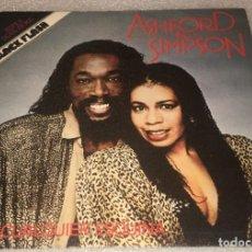 Discos de vinilo: SINGLE ASHFORD AND SIMPSON - STREET CORNER - MAKE IT WORK AGAIN - EMI- PEDIDO MINIMO 7€. Lote 287840243