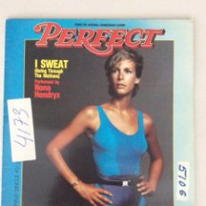 Discos de vinilo: MAXI SINGLE BSO PERFECT. I SWEAT (GOING THROUGH THE MOTIONS) PERFORMED BY NINA HENDRYX. Lote 287840608
