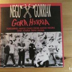 Discos de vinilo: NEGU GORRIAK – GORA HERRIA. Lote 287840903